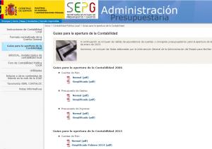 Oficina Virtual  Guías para la apertura de la Contabilidad